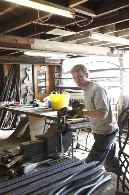 Jonathan Rowlandson, Metalworker