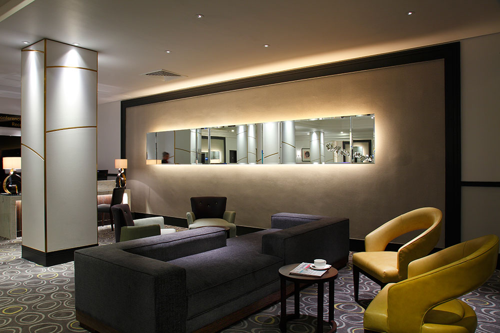 Hotel lounge by Central Design Studio