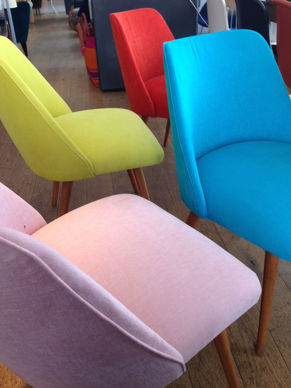 Vintage chairs in Do South, Crystal Palace