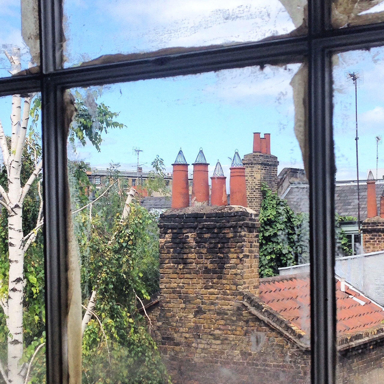 Spitalfields chimney pots