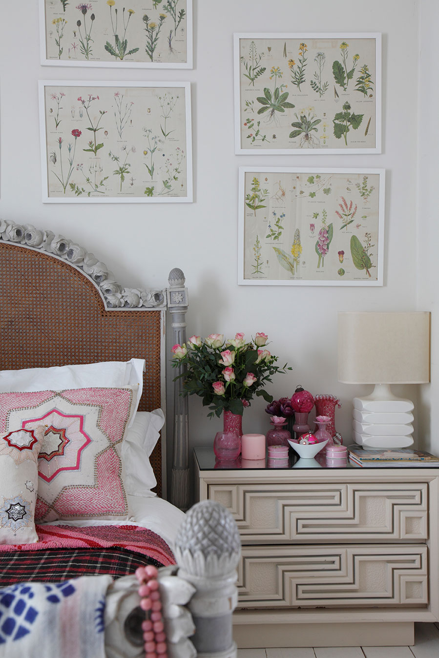 Tracey Boyd's bedroom shot for the Saturday Times Magazine