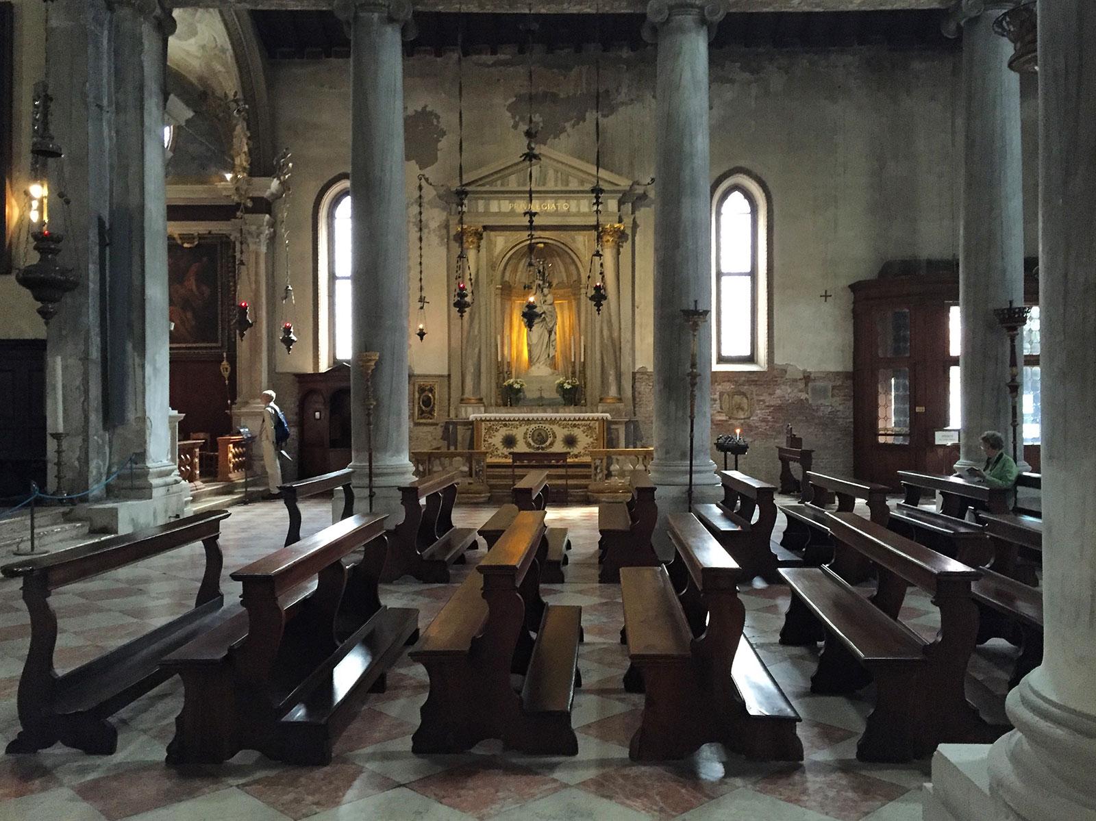 The church of San Polo